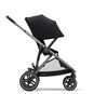 CYBEX Gazelle S - Deep Black (Taupe Frame) in Deep Black (Taupe Frame) large image number 6 Small