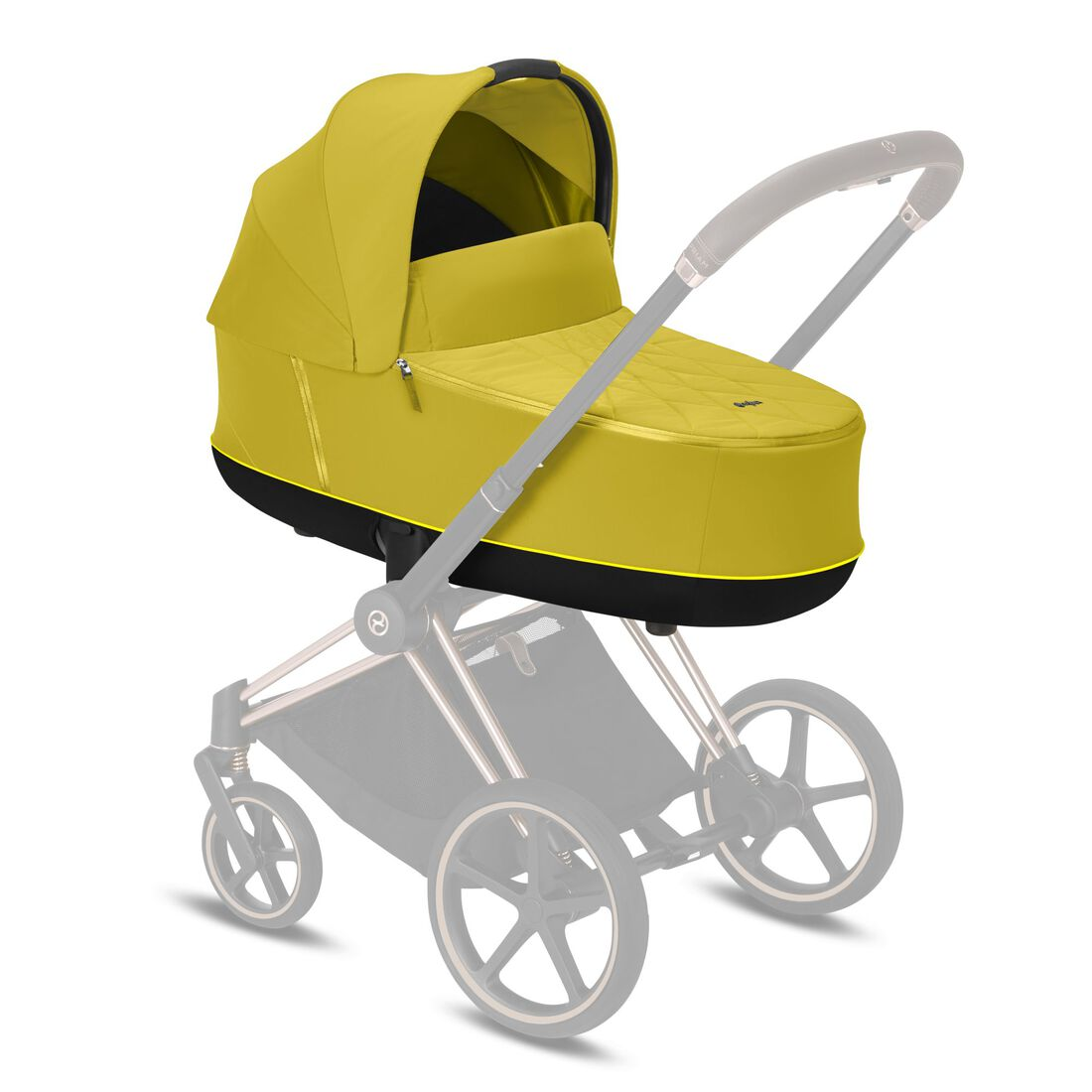 CYBEX Priam Lux Carry Cot - Mustard Yellow in Mustard Yellow large image number 5