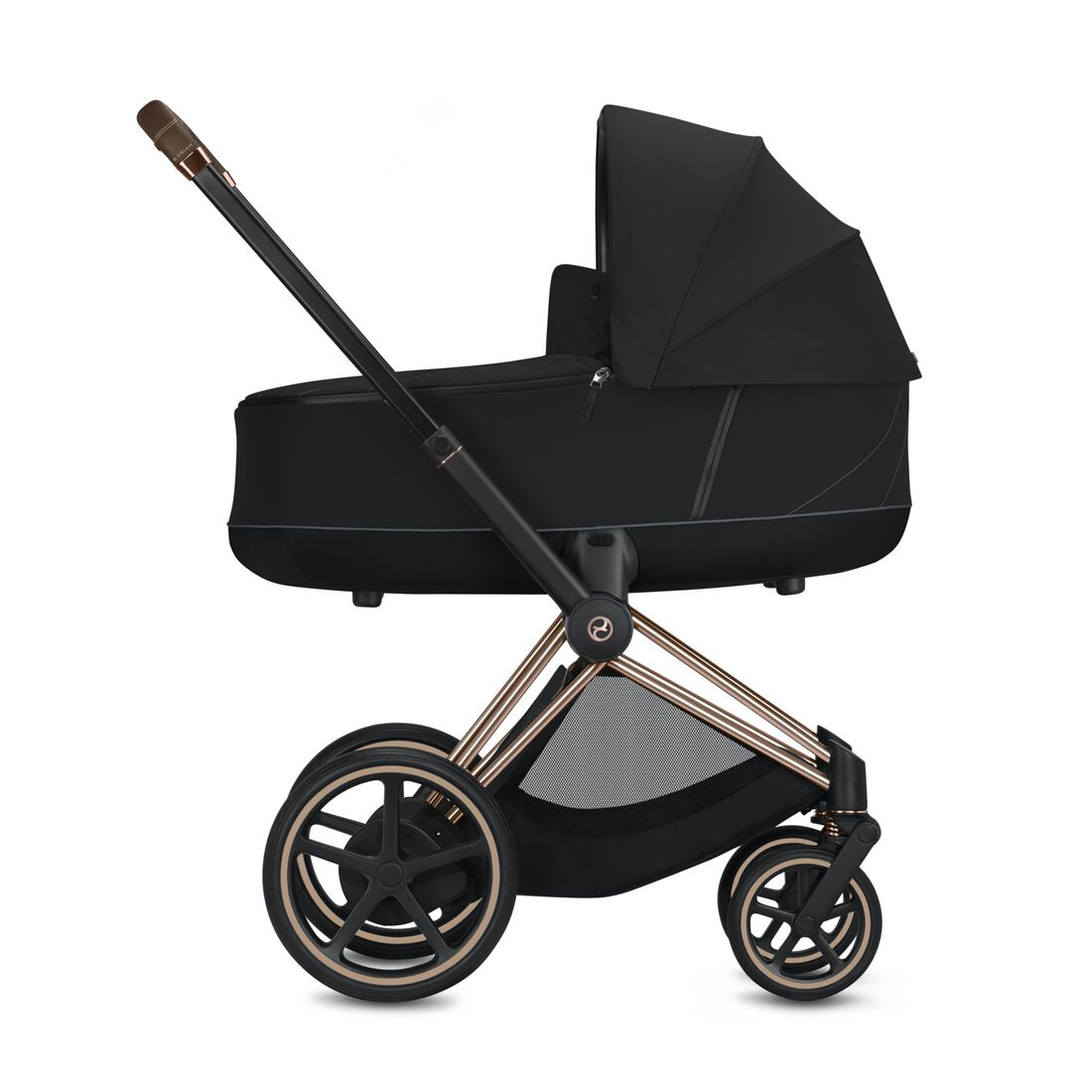 CYBEX Configure e-Priam Set: Frame, Lux Carry Cot, Seat Pack in  large image number 2