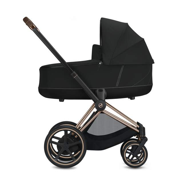 Konfiguration e-Priam Set: Rahmen, Lux Carry Cot, Sitzpaket
