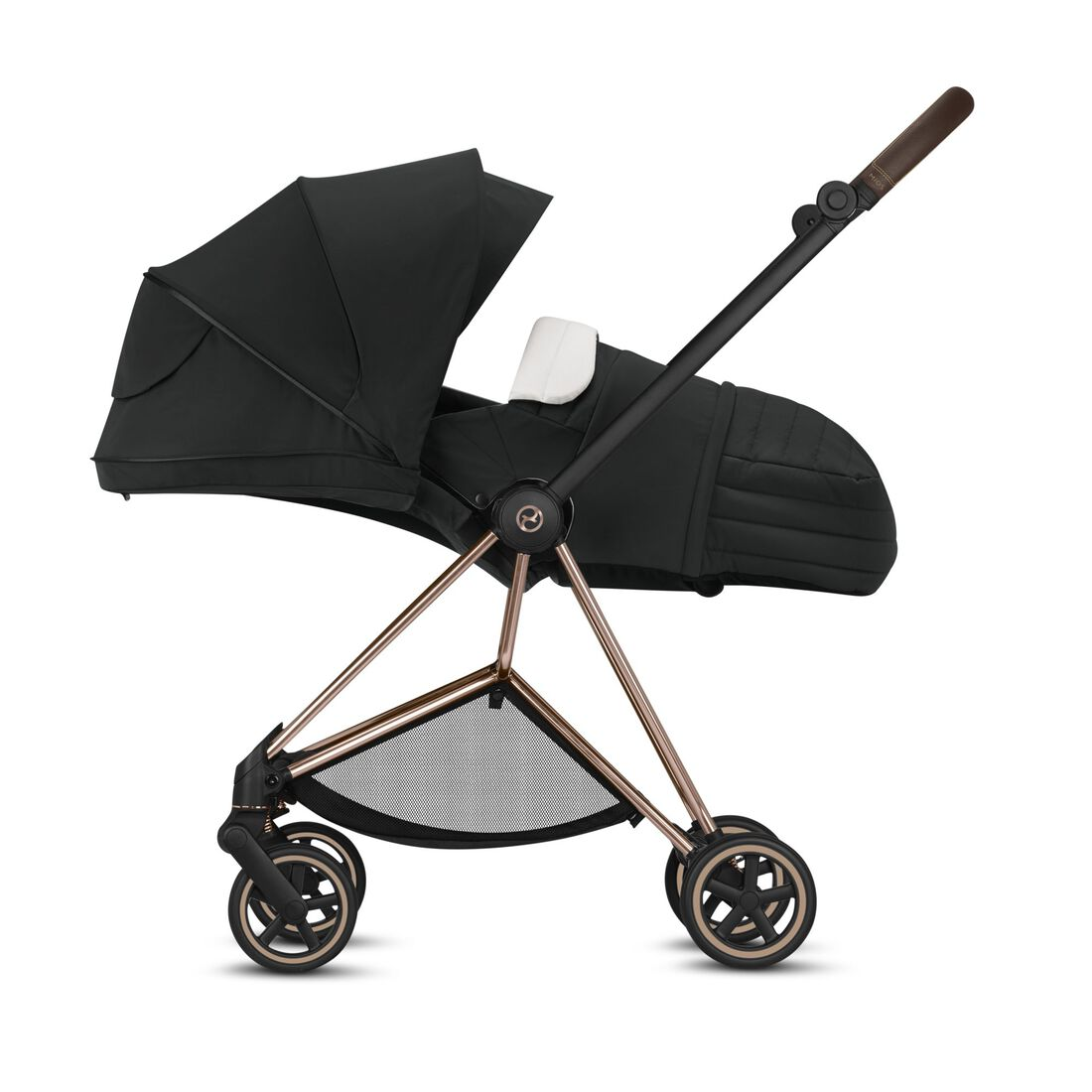 CYBEX Cot S - Carry handle and memory buttons