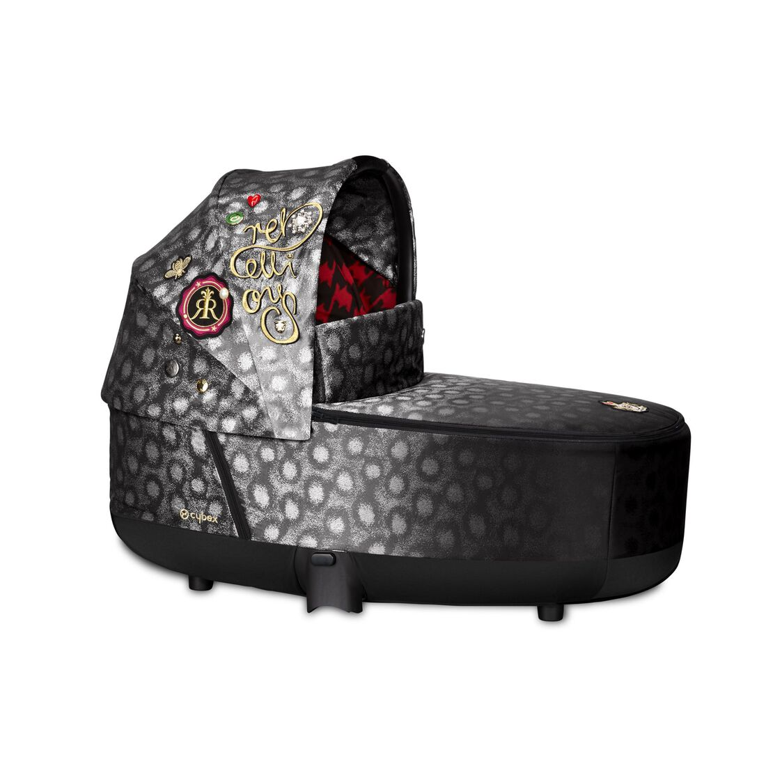 CYBEX Priam Lux Carry Cot - Rebellious in Rebellious large image number 1
