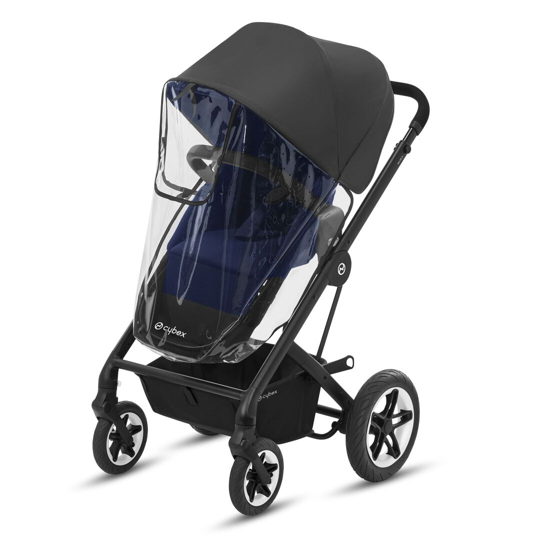 CYBEX Rain Cover Balios S 2-in-1/Talos S 2-in-1 - Transparent in Transparent large image number 2