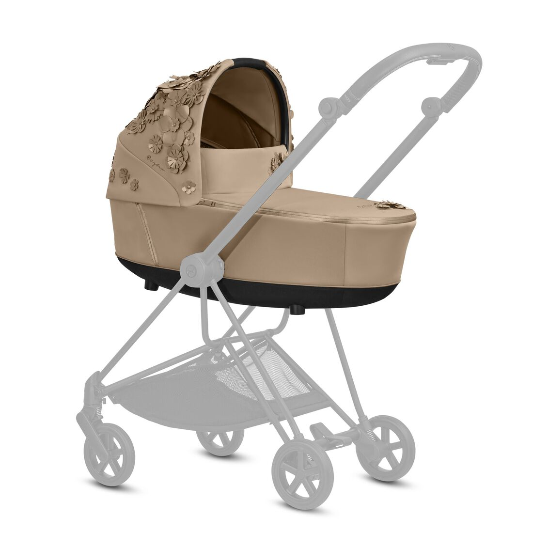 CYBEX Mios Lux Carry Cot - Nude Beige in Nude Beige large image number 3