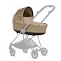 CYBEX Mios Lux Carry Cot - Nude Beige in Nude Beige large image number 3 Small