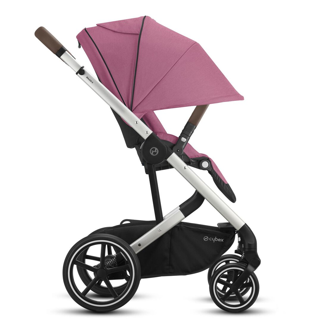 CYBEX Balios S Lux - Magnolia Pink (Silver Frame) in Magnolia Pink (Silver Frame) large image number 5