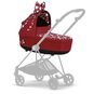 CYBEX Mios Lux Carry Cot - Petticoat Red in Petticoat Red large Bild 4 Klein