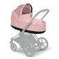 CYBEX Priam Lux Carry Cot - Pale Blush in Pale Blush large image number 5 Small