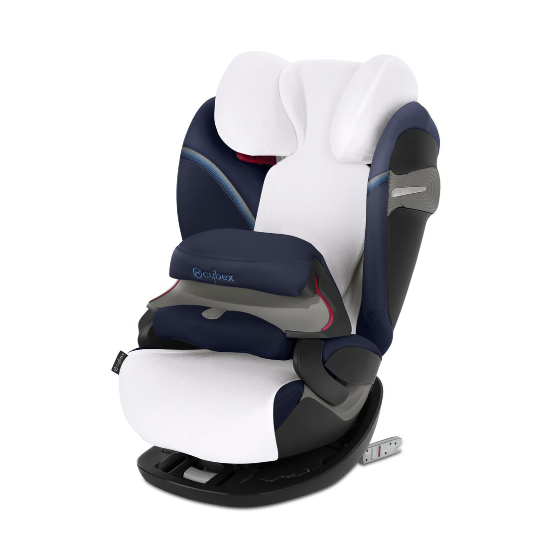 CYBEX Summer Cover Pallas/Solution S - White in White large image number 1