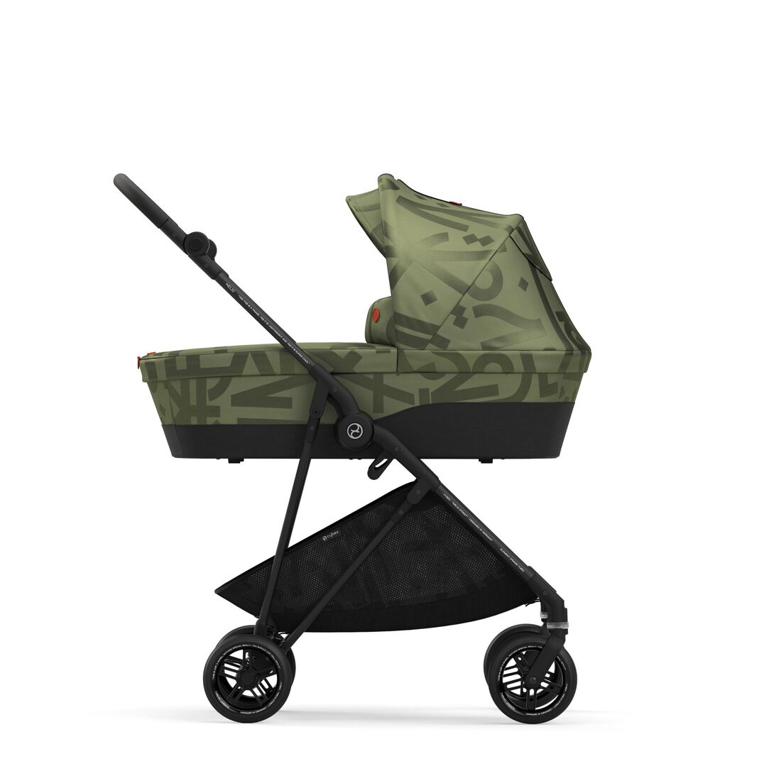 CYBEX Melio Cot - Olive Green in Olive Green large image number 6