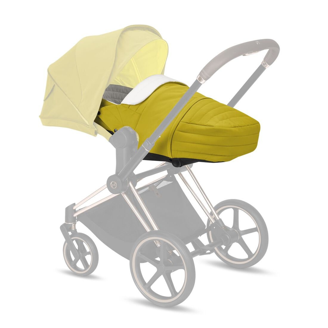 CYBEX Lite Cot - Mustard Yellow in Mustard Yellow large image number 1