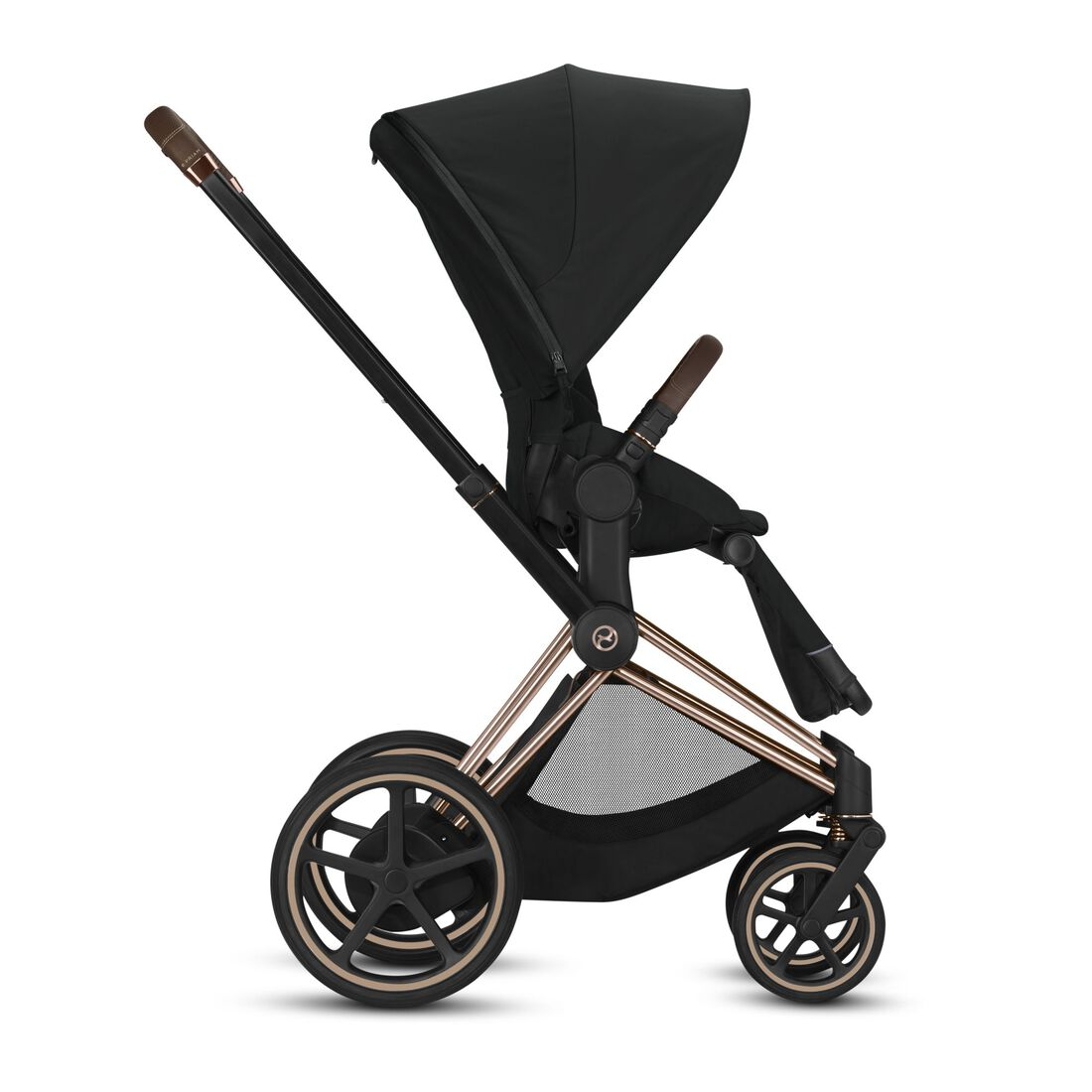 CYBEX Configure e-Priam Set: Frame, Lux Carry Cot, Seat Pack in  large image number 3