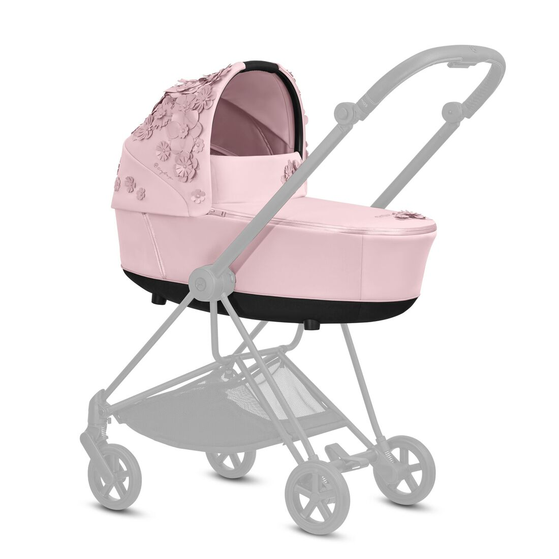 CYBEX Mios Lux Carry Cot - Pale Blush in Pale Blush large Bild 4