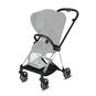 CYBEX Mios Frame - Chrome With Black Details in Chrome With Black Details large image number 2 Small