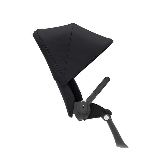 Gazelle S Seat Unit - Deep Black (Black Frame)