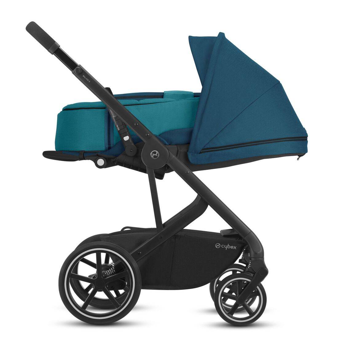 CYBEX Balios S Lux - River Blue (Black Frame) in River Blue (Black Frame) large image number 4