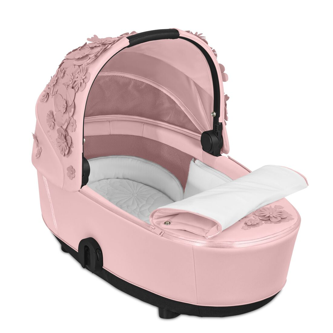CYBEX Mios Lux Carry Cot - Pale Blush in Pale Blush large image number 2