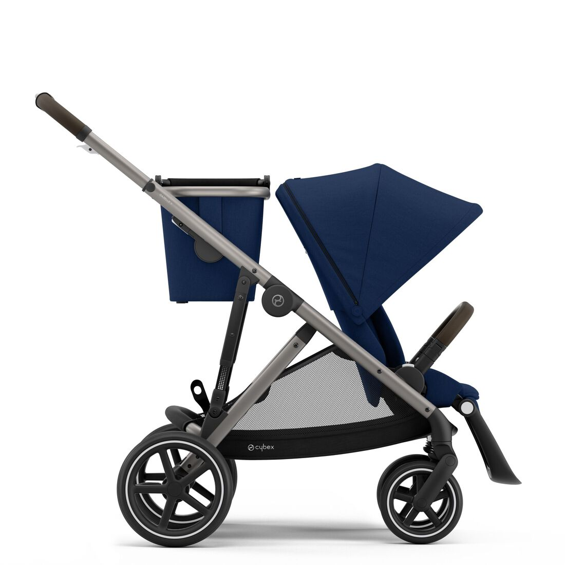 CYBEX Gazelle S - Navy Blue (Taupe Frame) in Navy Blue (Taupe Frame) large image number 1