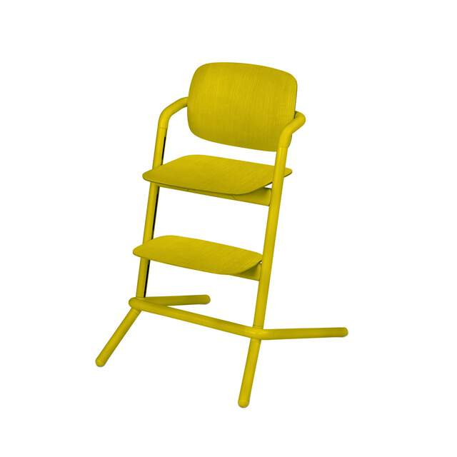 Lemo Chair - Canary Yellow (Wood)