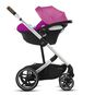 CYBEX Balios S Lux - Magnolia Pink (Silver Frame) in Magnolia Pink (Silver Frame) large image number 3 Small