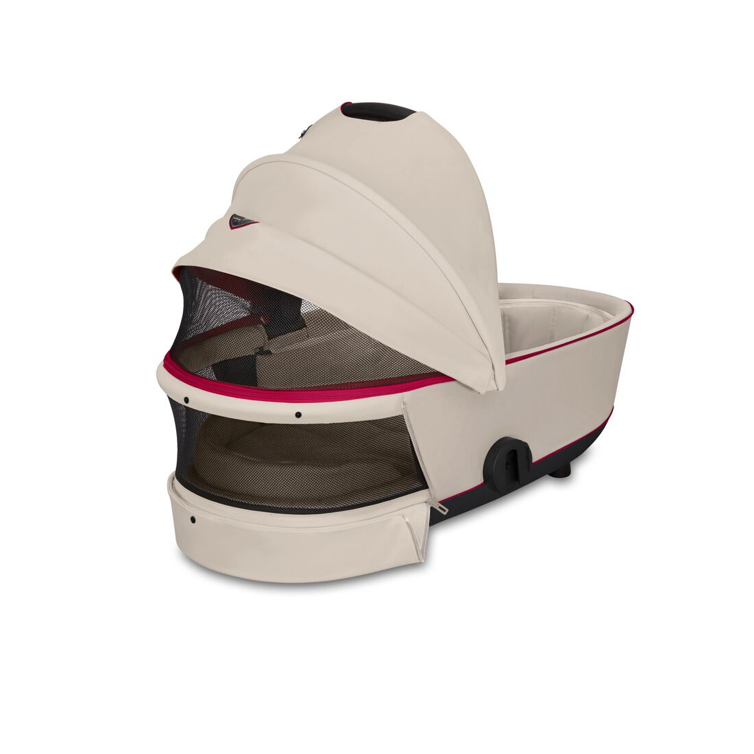 CYBEX Mios Lux Carry Cot - Ferrari Silver Grey in Ferrari Silver Grey large image number 3