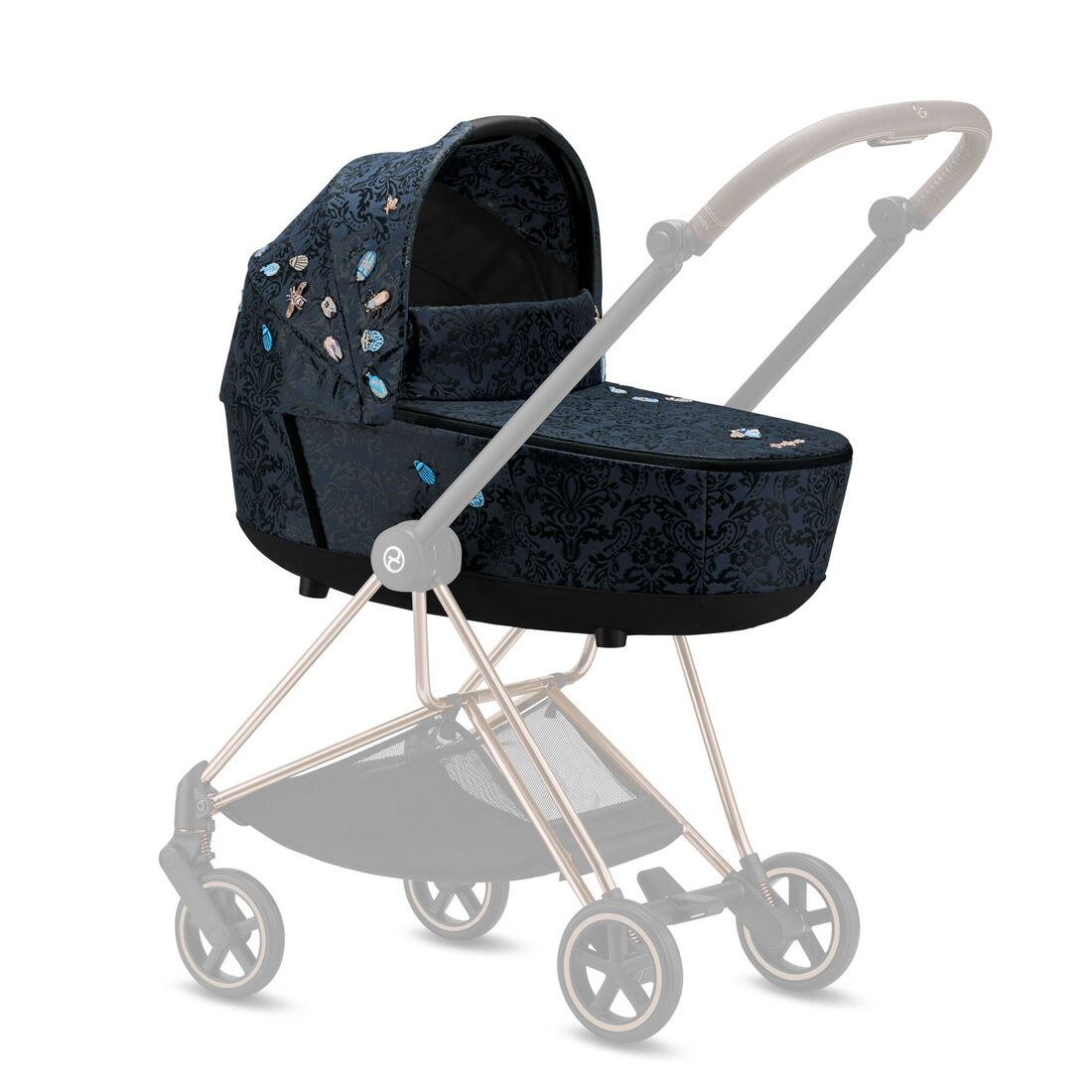 CYBEX Mios Lux Carry Cot - Jewels of Nature in Jewels of Nature large image number 4