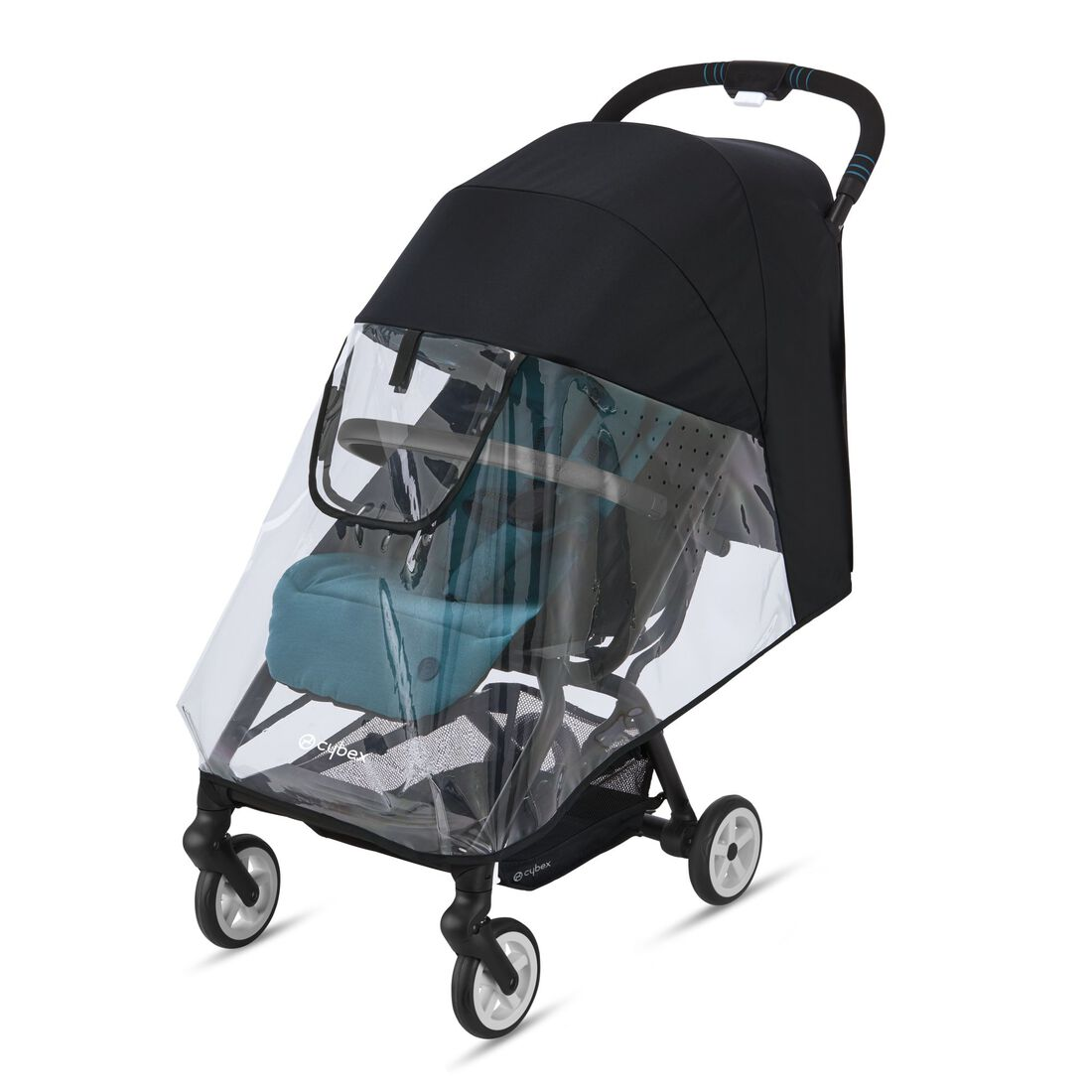 CYBEX Rain Cover Eezy S Line - Transparent in Transparent large image number 1