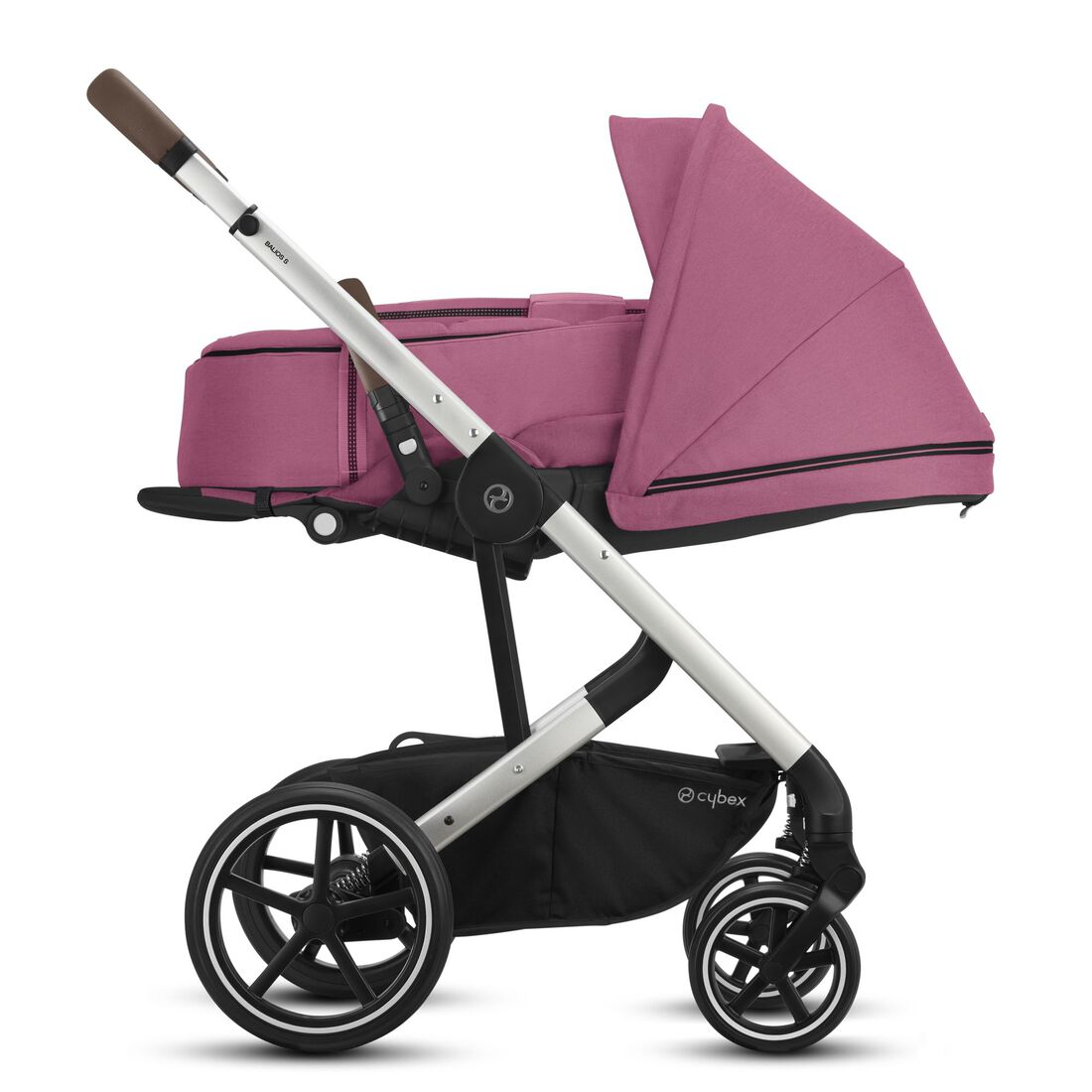 CYBEX Balios S Lux - Magnolia Pink (Silver Frame) in Magnolia Pink (Silver Frame) large image number 4