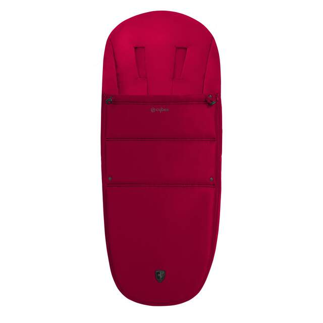 Gold Footmuff - Ferrari Racing Red