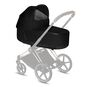 CYBEX Priam Lux Carry Cot - Stardust Black Plus in Stardust Black Plus large image number 2 Small