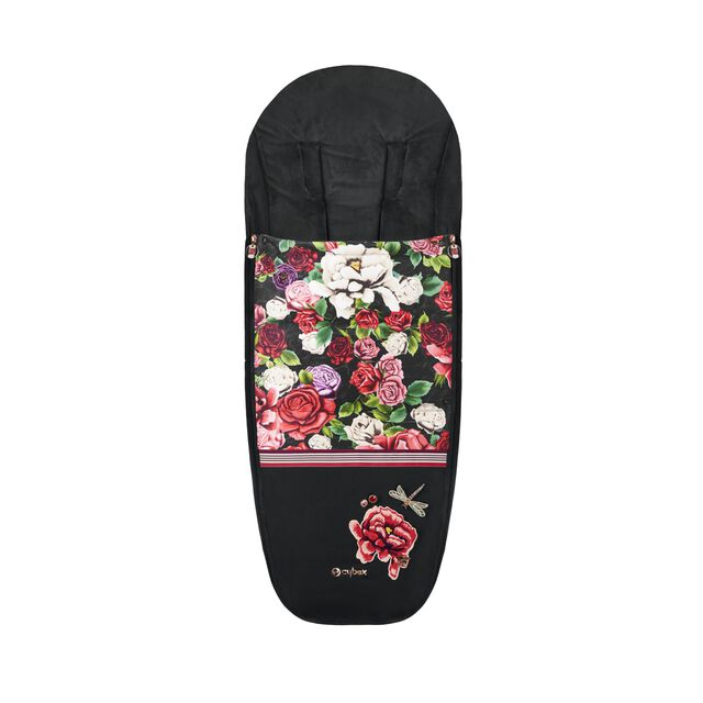 Platinum Footmuff - Spring Blossom Dark