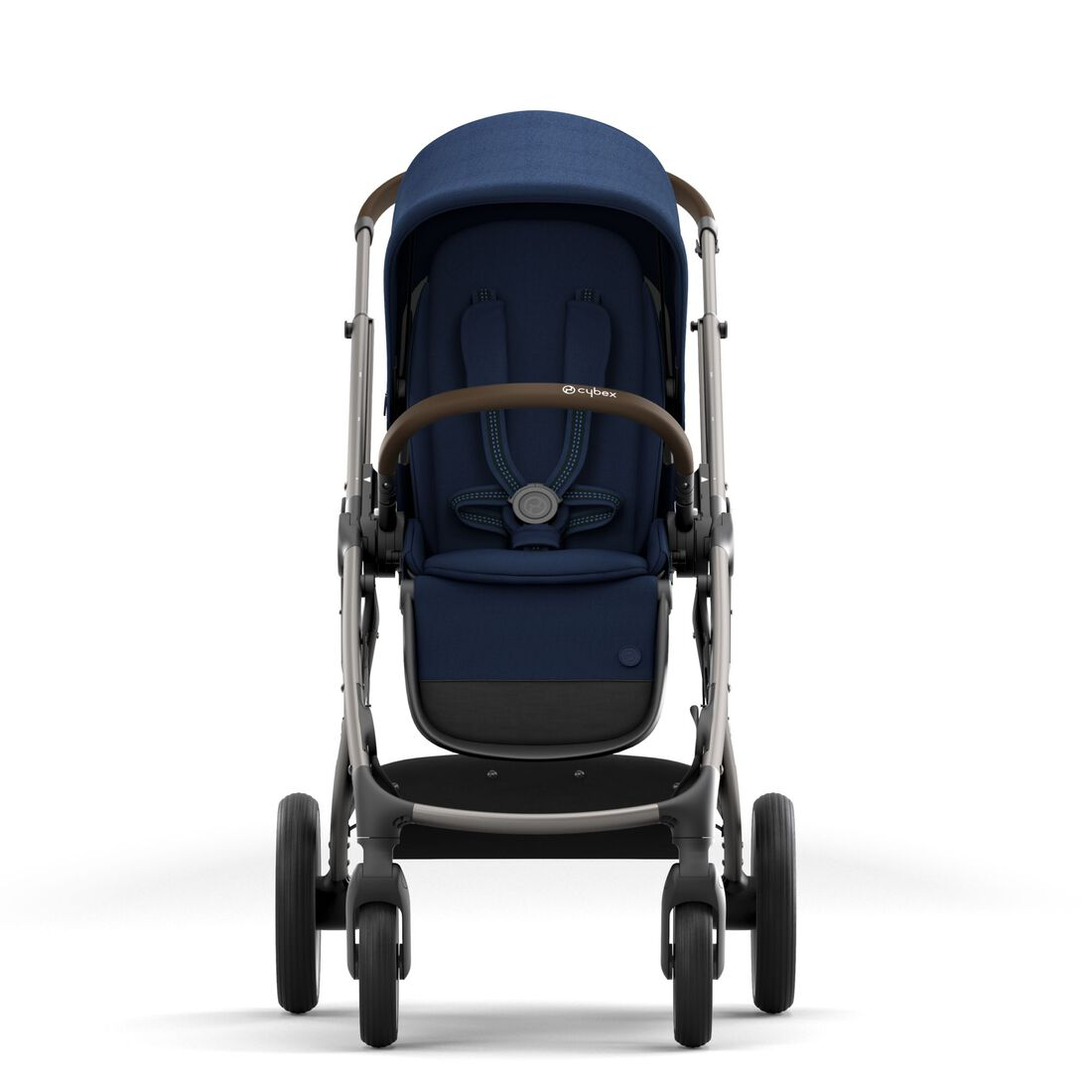 CYBEX Gazelle S - Navy Blue (Taupe Frame) in Navy Blue (Taupe Frame) large image number 3