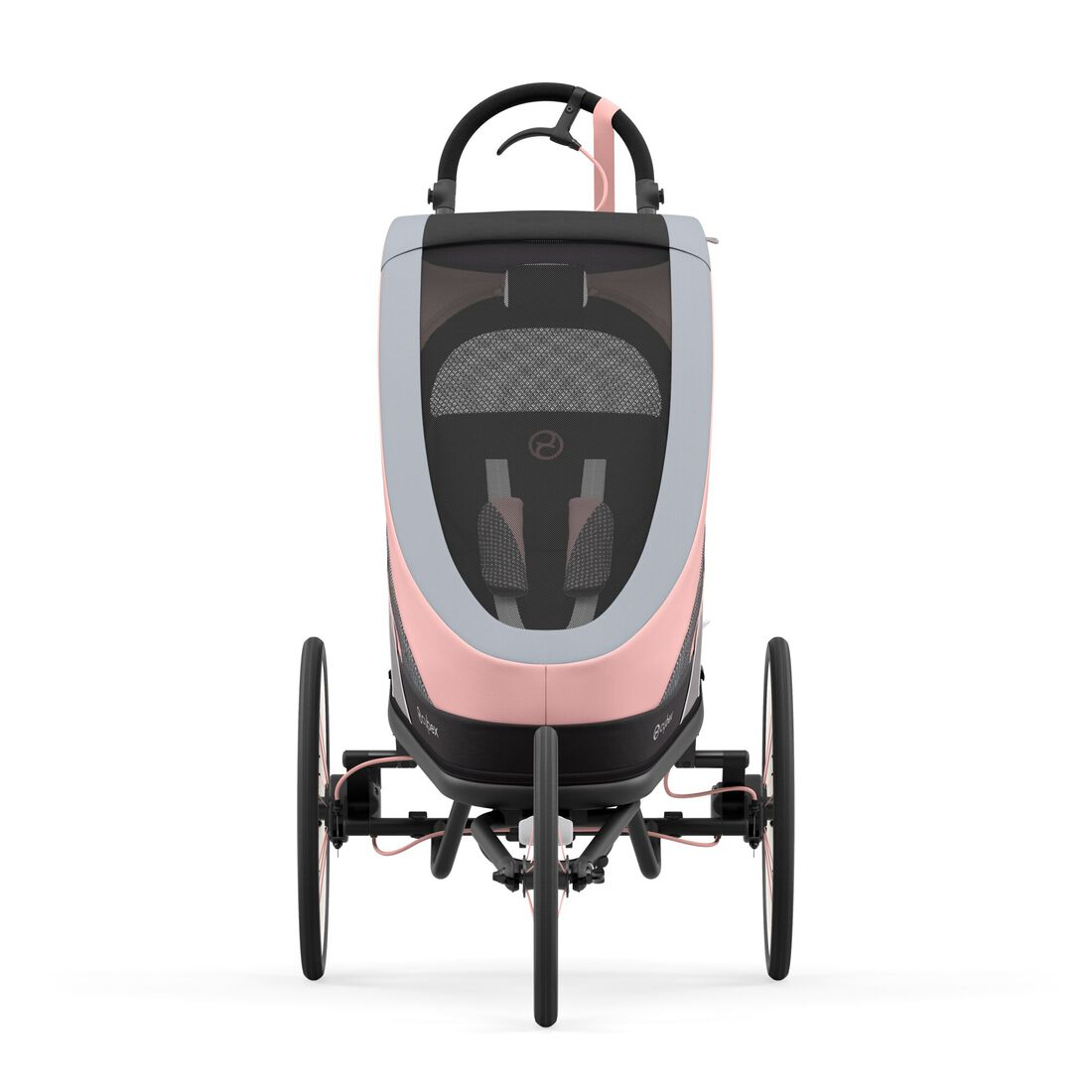 CYBEX Zeno Frame - Black With Pink Details in Black With Pink Details large image number 3