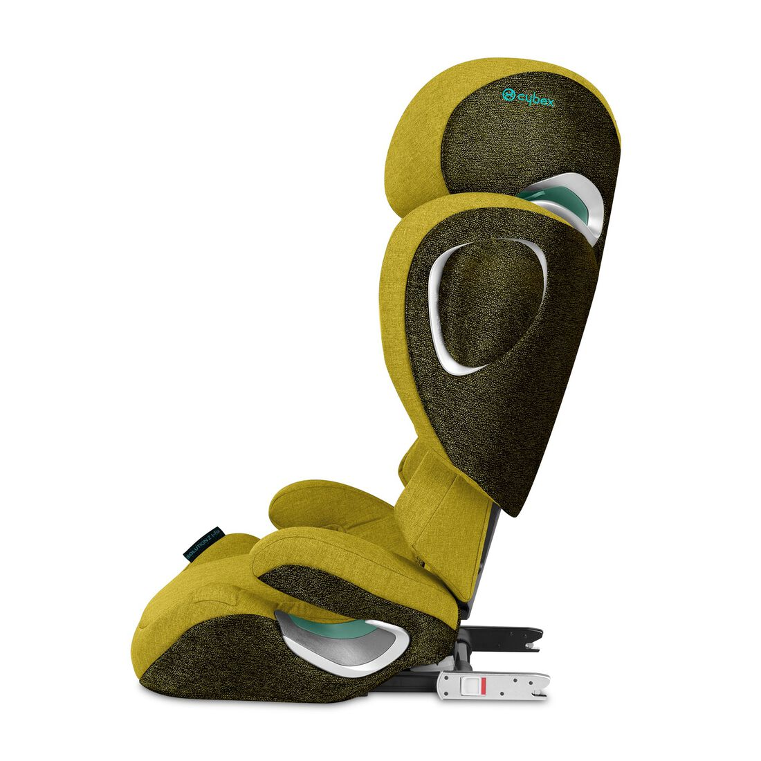 CYBEX Solution Z i-Fix - Mustard Yellow Plus in Mustard Yellow Plus large image number 2