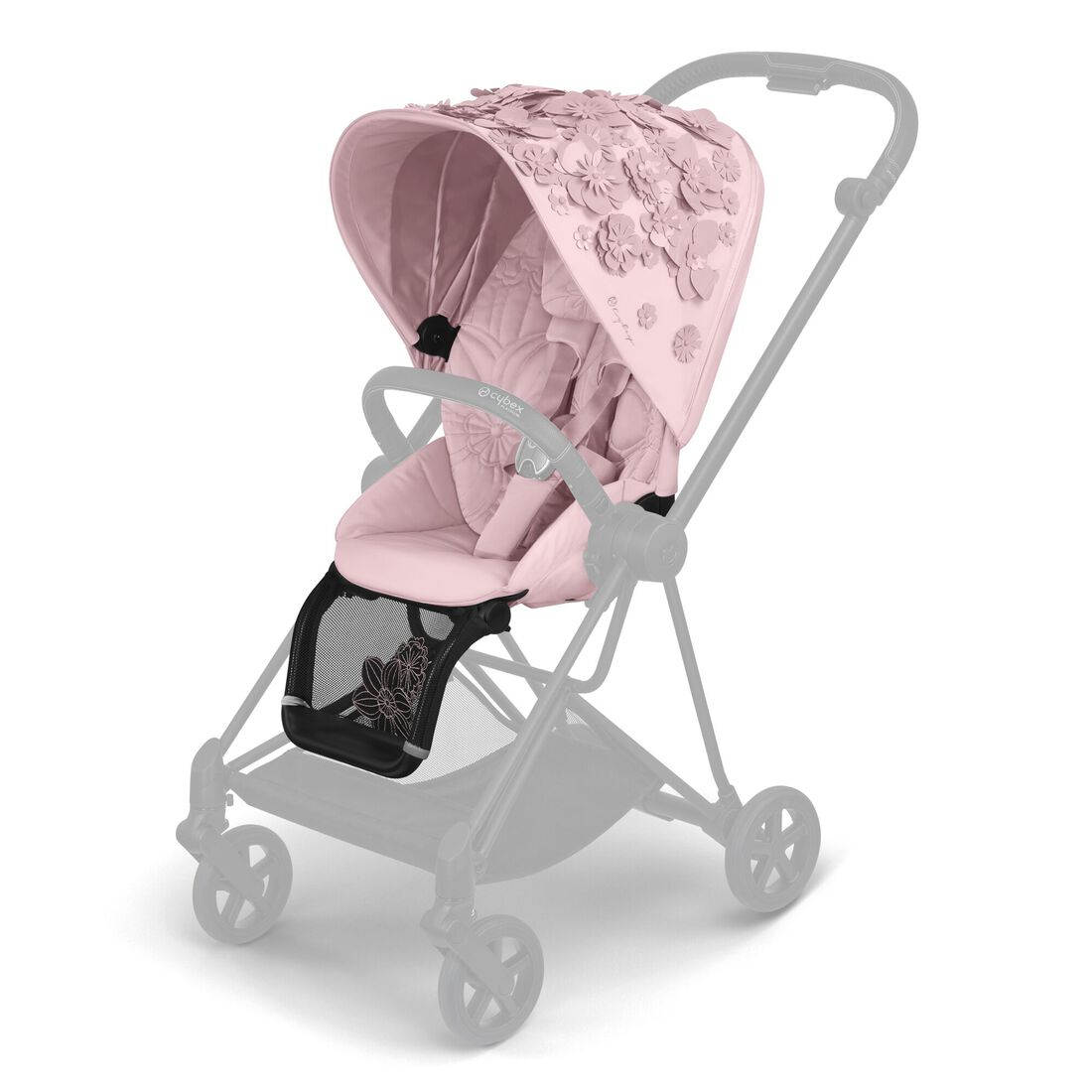 CYBEX Mios Seat Pack - Pale Blush in Pale Blush large image number 1