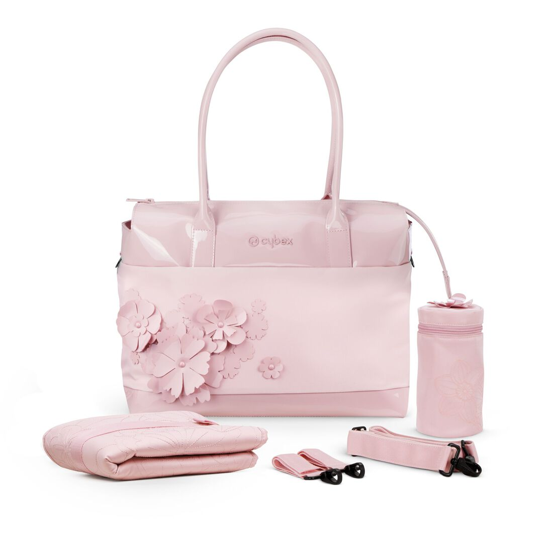 CYBEX Changing Bag Simply Flowers - Pale Blush in Pale Blush large image number 3