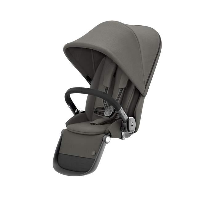 Gazelle S Sitzeinheit - Soho Grey (Schwarzer Rahmen)