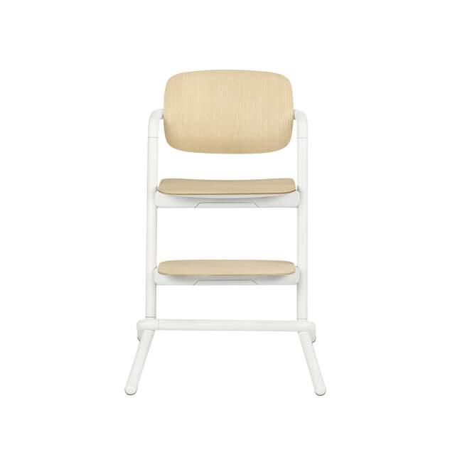 Lemo Chair - Porcelaine White (Wood)