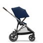 CYBEX Gazelle S - Navy Blue (Taupe Frame) in Navy Blue (Taupe Frame) large image number 4 Small