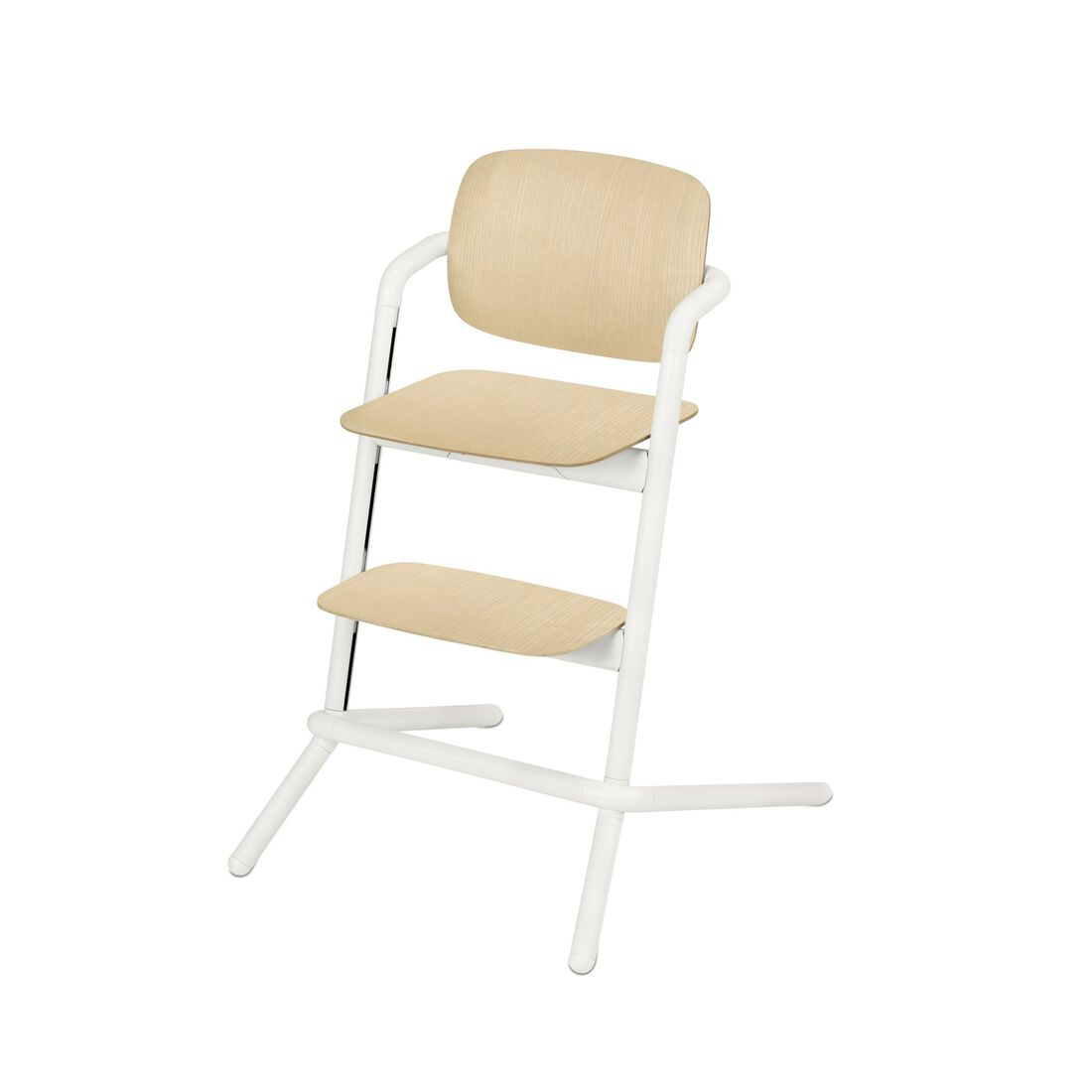 CYBEX Lemo Chair - Porcelaine White (Wood) in Porcelaine White (Wood) large image number 1