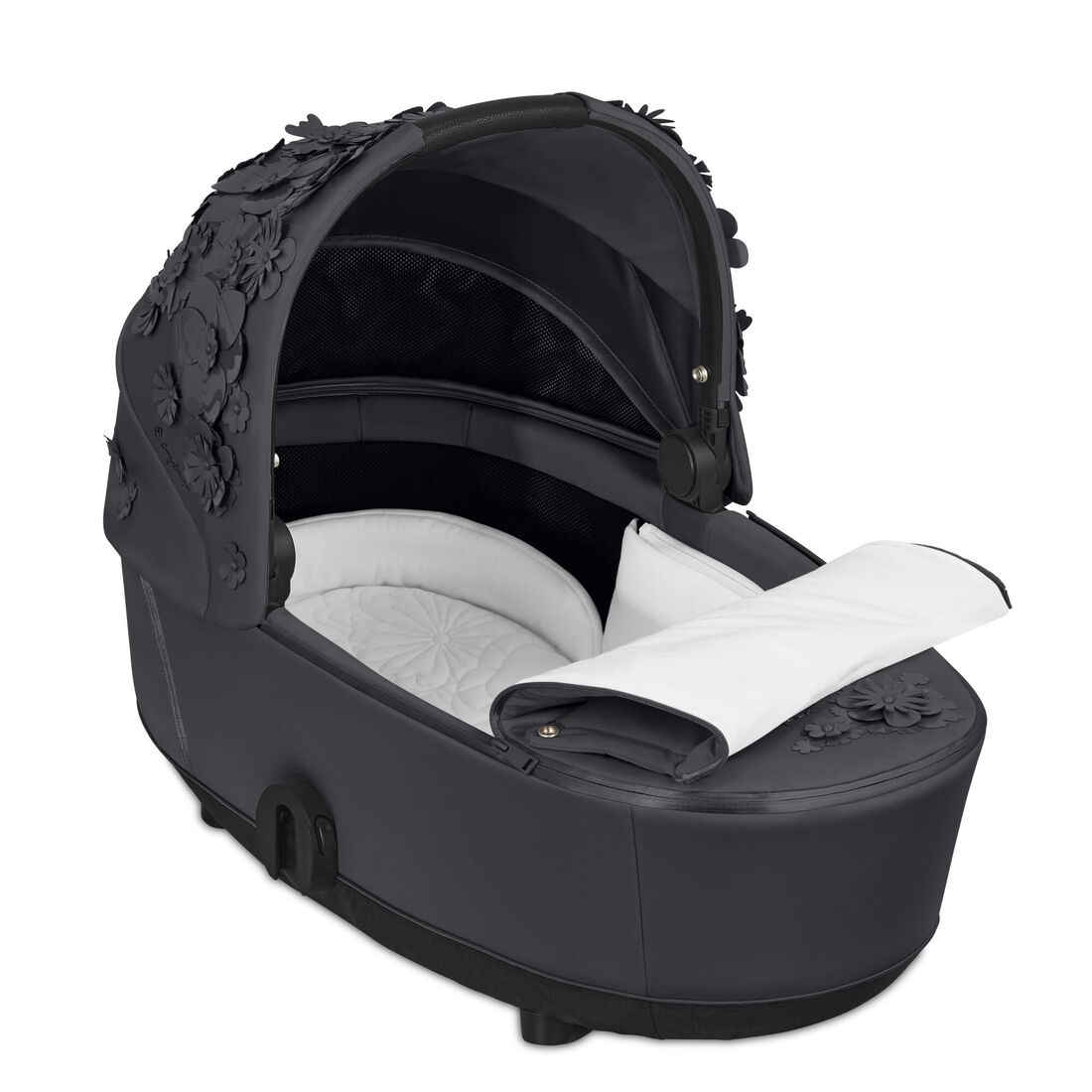 CYBEX Mios Lux Carry Cot - Dream Grey in Dream Grey large image number 2