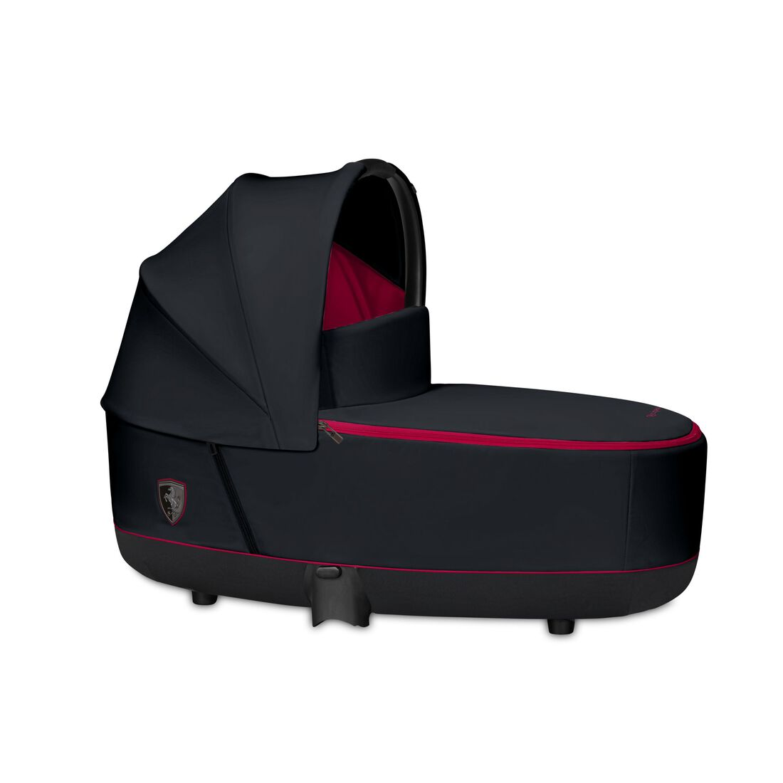 CYBEX Priam Lux Carry Cot - Ferrari Victory Black in Ferrari Victory Black large image number 1