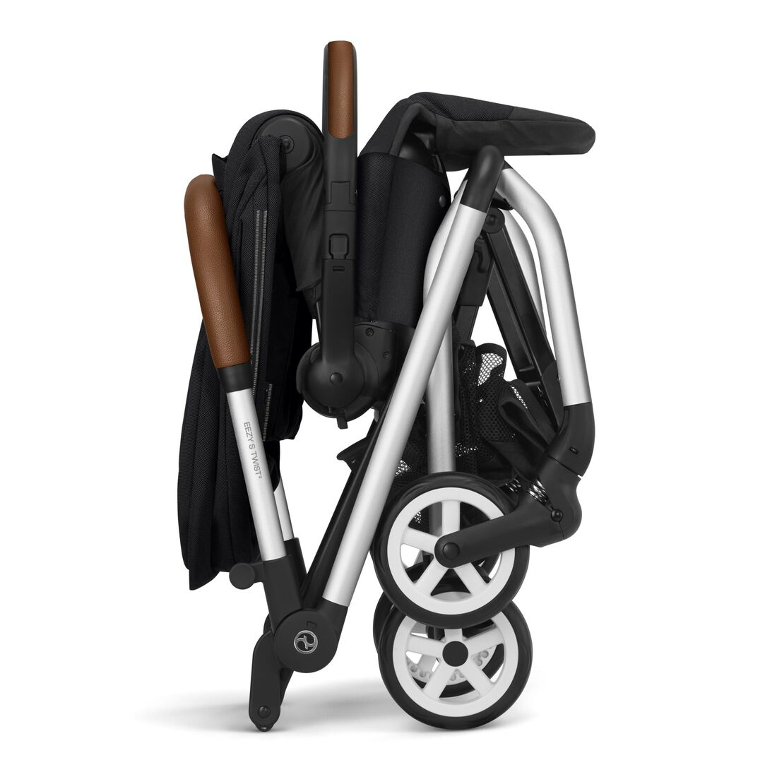 CYBEX Eezy S Twist 2 - Deep Black (Silberner Rahmen) in Deep Black (Silver Frame) large Bild 5