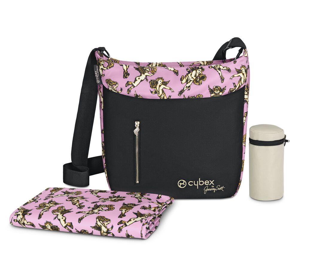 CYBEX Changing Bag Jeremy Scott - Cherubs Pink in Cherubs Pink large image number 4