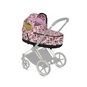 CYBEX Priam Lux Carry Cot - Cherubs Pink in Cherubs Pink large image number 4 Small