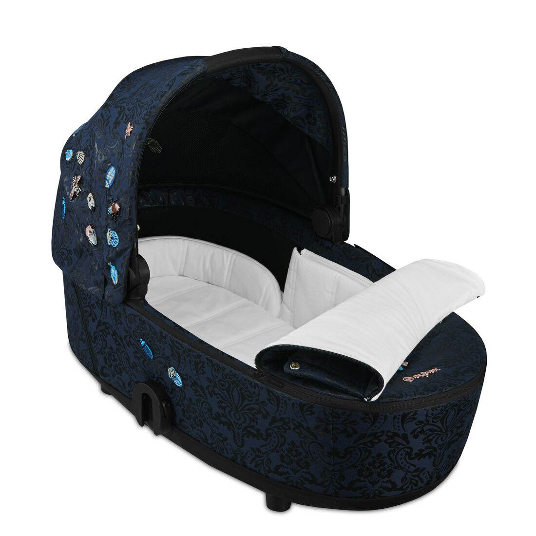 CYBEX Mios Lux Carry Cot - Jewels of Nature in Jewels of Nature large image number 2