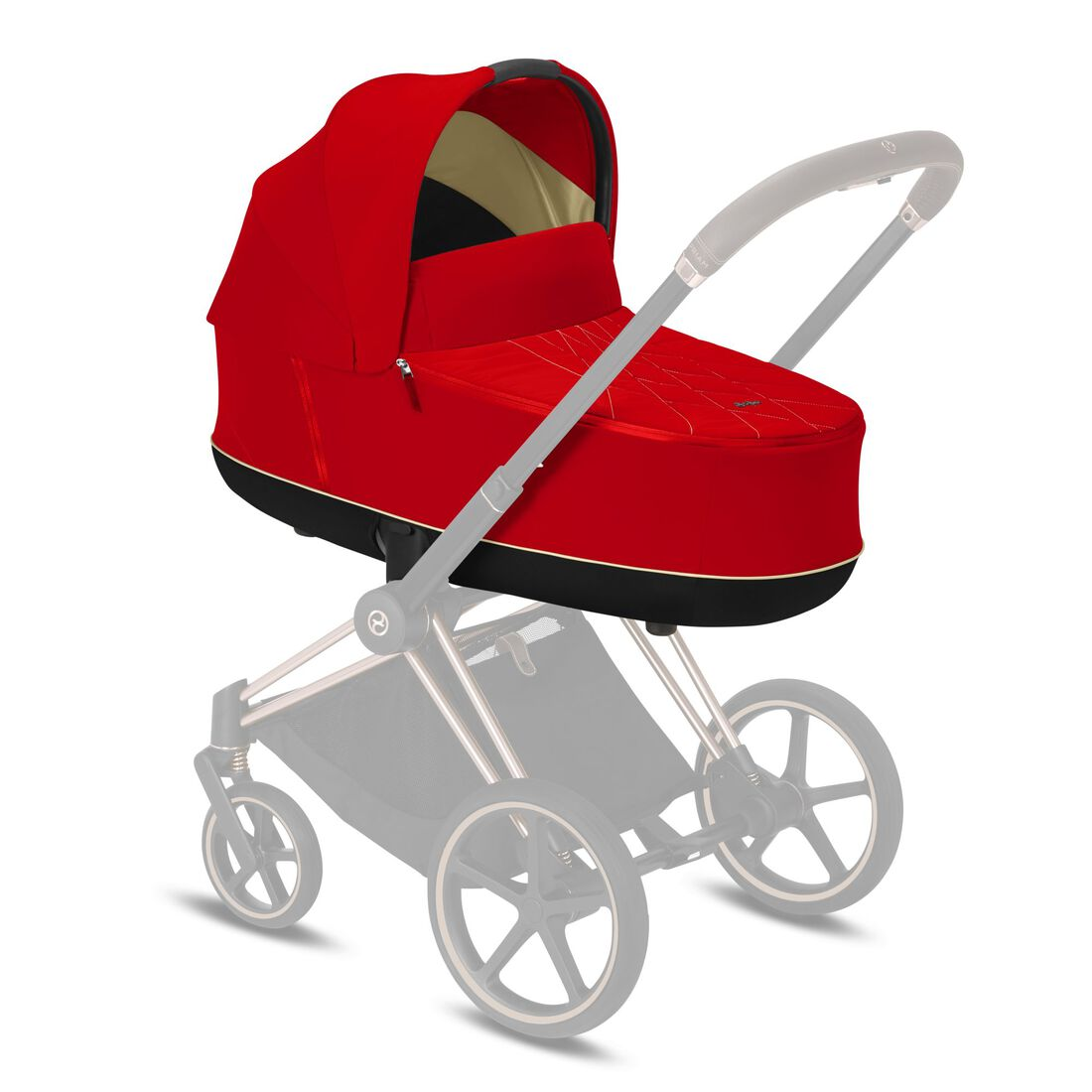 CYBEX Priam Lux Carry Cot - Autumn Gold in Autumn Gold large image number 5