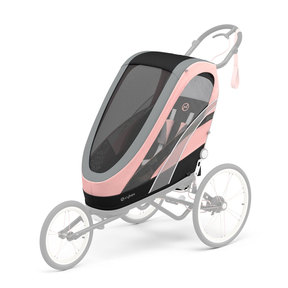 CYBEX Zeno Seat Pack - Silver Pink in Silver Pink large image number 1