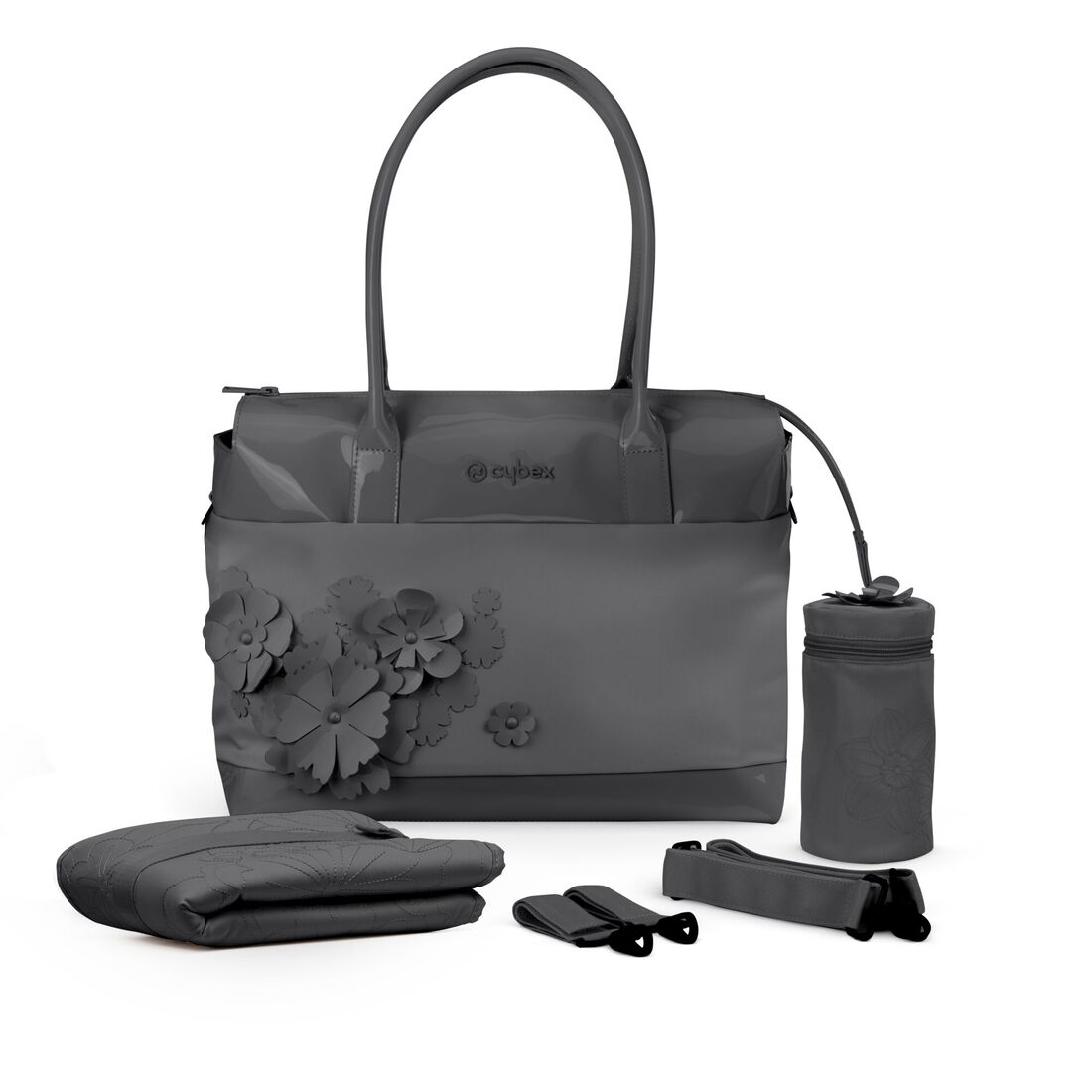 CYBEX Changing Bag Simply Flowers - Dream Grey in Dream Grey large image number 3