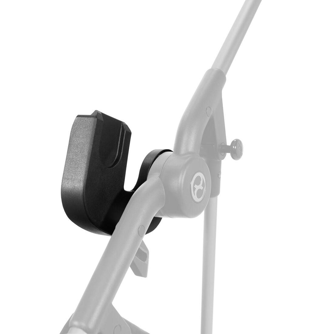 CYBEX Babyschalen Adapter Melio Line - Black in Black large Bild 1